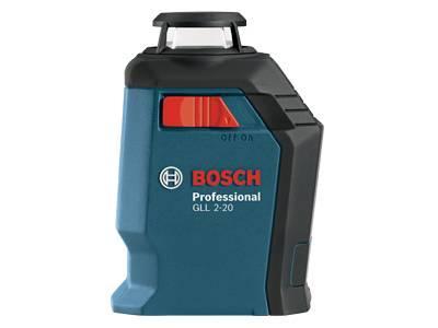 Лазерные уровни Bosch GLL 2-20