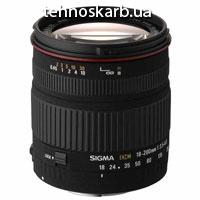 Sigma 18-200 mm f/3.5-6.3 dc