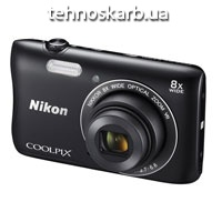 Фотоаппарат цифровой Nikon coolpix s3500