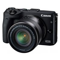 Фотоаппарат цифровой Canon eos m3 kit (18-55mm) is stm