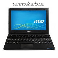 "Ноутбук экран 10,1"" MSI atom n280 1,66ghz/ ram1024mb/ hdd160gb/"