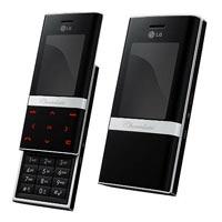 Мобильный телефон LG ke800 chocolate platinum