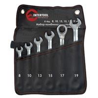 Набор ключей *** с трещоткой 6 ед.intertool xt-1301
