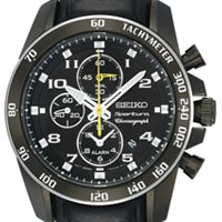 Часы SEIKO sportura chronograph watch 7t62-0kv0