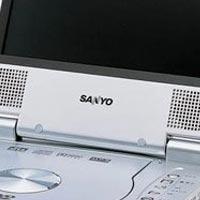 DVD-проигрыватель портативный с экраном Sanyo другое
