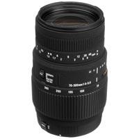 Фотообъектив Sigma 70-300 mm f/4-5.6 dg macro