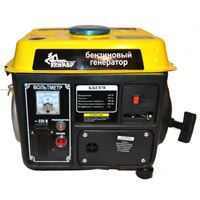 Бензиновый электрогенератор Кентавр кбг-078