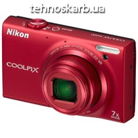 Фотоаппарат цифровой Nikon coolpix s6100