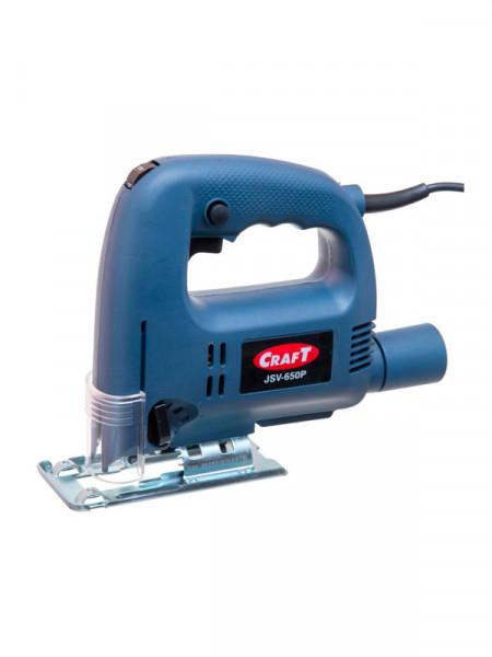 Лобзик электрический 600Вт Craft jsv-650p