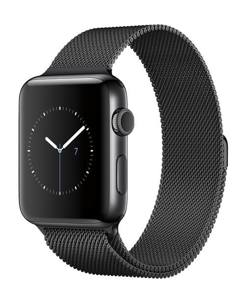 Годинник Apple watch 42mm steel case series 2