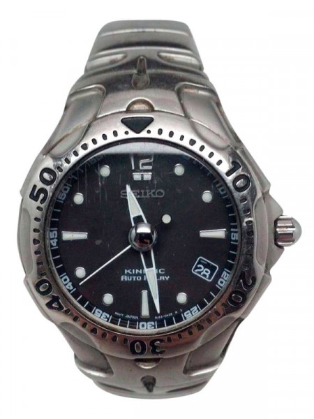 Годинник Seiko kinetic auto relay 5j22-0a50