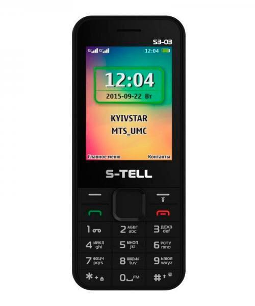Мобильный телефон S-Tell s3-03
