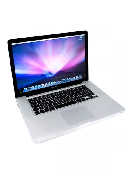 "Ноутбук екран 15,4"" Apple Macbook Pro core i5 2,4ghz/ ram4gb/ hdd500gb/video gf 330m/ dvdrw a1286"