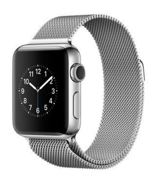 Часы Apple watch 38mm steel case series 2