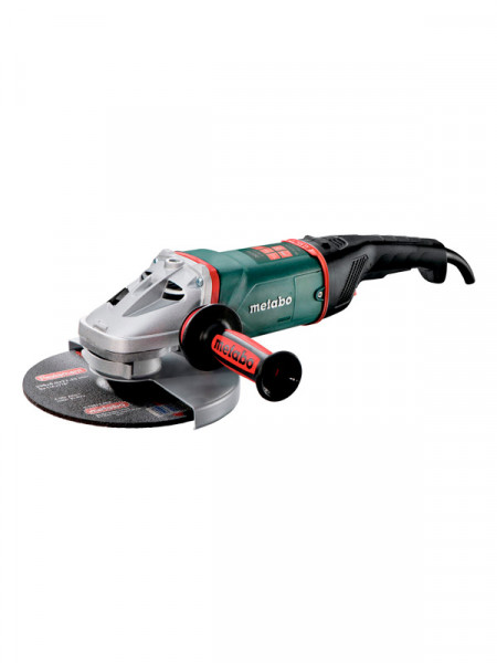 Кутова шліфмашина 2600Вт Metabo we 26-230 mvt quick
