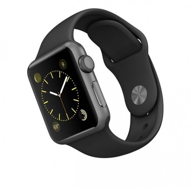 Годинник Apple watch sport (42mm aluminum case) series 1