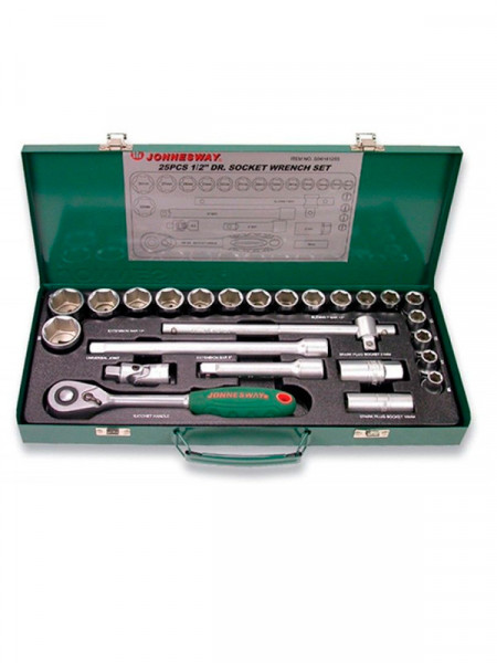 Набір інструментів Jonnesway s04h4125s