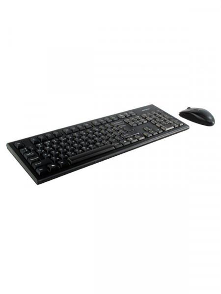 Клавиатура с мышкой беспроводные A4 Tech 3100n gk-85+g3-220n