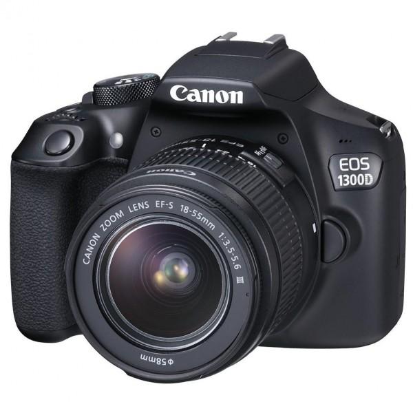 Фотоаппарат цифровой Canon eos 1300d kit (18-55mm) ef-s dc iii