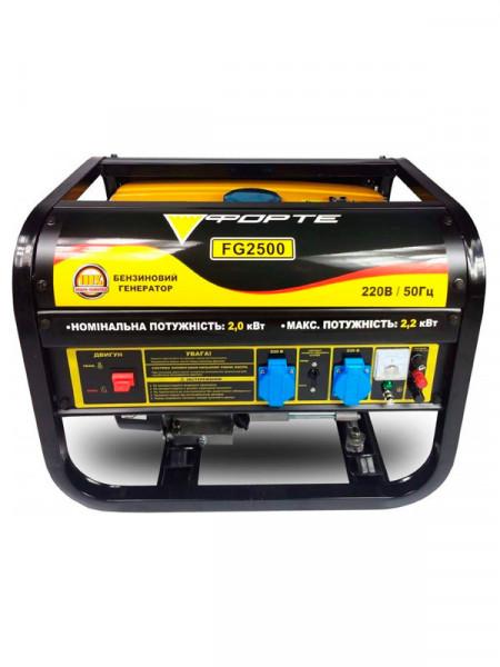 Бензиновий електрогенератор Forte fg 2500