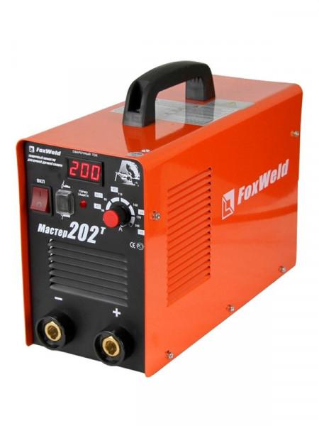 Зварювальний апарат Foxweld master 202