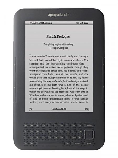 Електронна книга Amazon kindle 3 wifi 3g