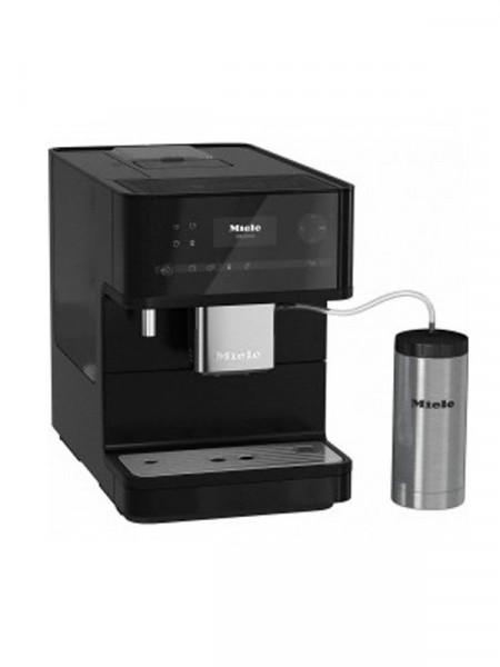 Кофеварка эспрессо Miele cm 6350 obsidian black