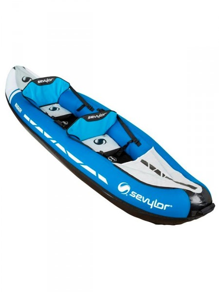 Лодка надувная * sevylor wabash inflatable 2-seat canoe-kayak blue