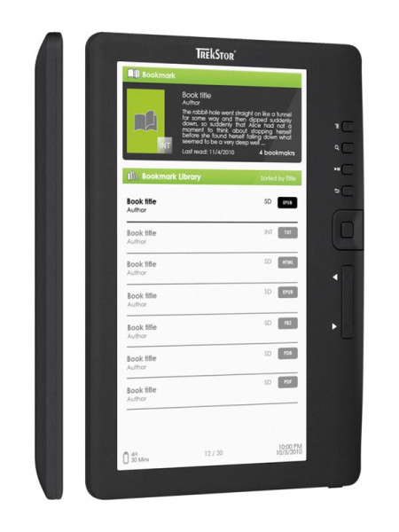 Электронная книга Trekstor ebook-reader 3.0