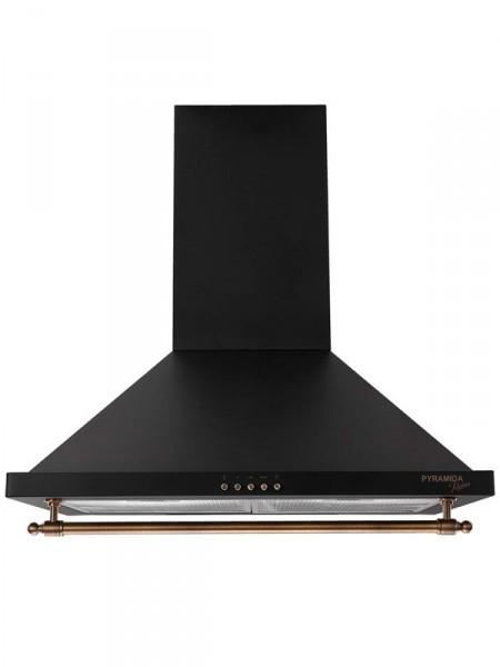 Вытяжка кухонная Pyramida kh 60 rustico black
