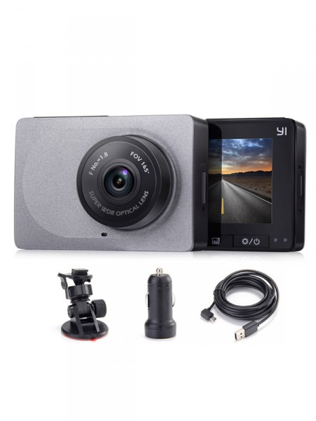 Видеорегистратор Xiaomi yi smart car dvr grey ycs.1015.cn
