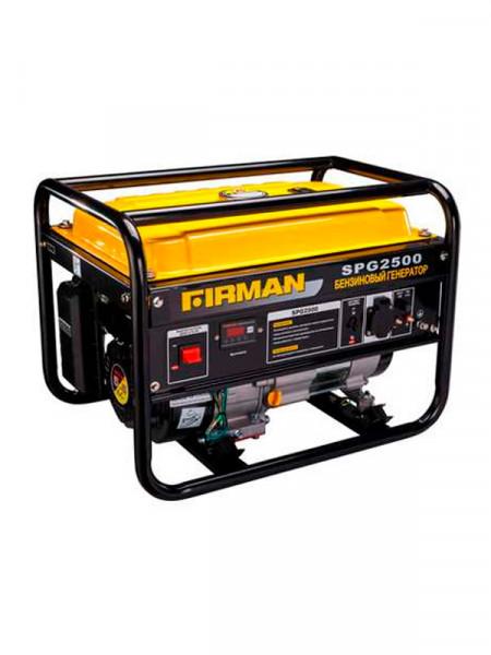 Бензиновий електрогенератор Firman spg 2500