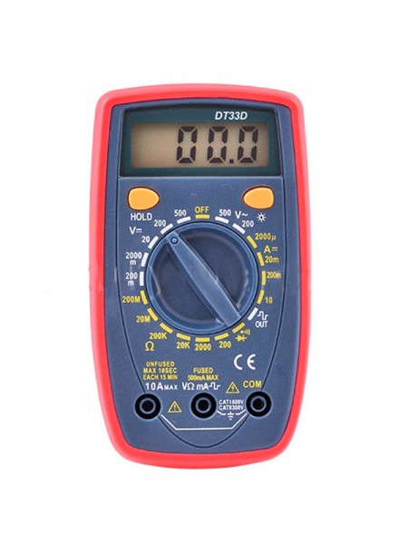 Мультиметр Dt 33series