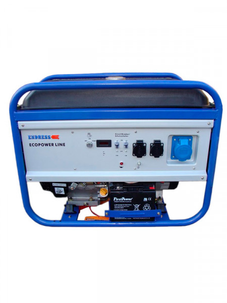 Бензиновий електрогенератор Endress ese 6000bs 5.0квт