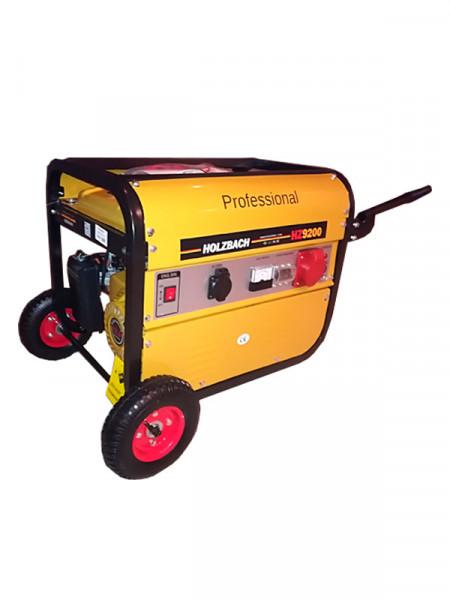 Бензиновий електрогенератор - holzbach hz9200