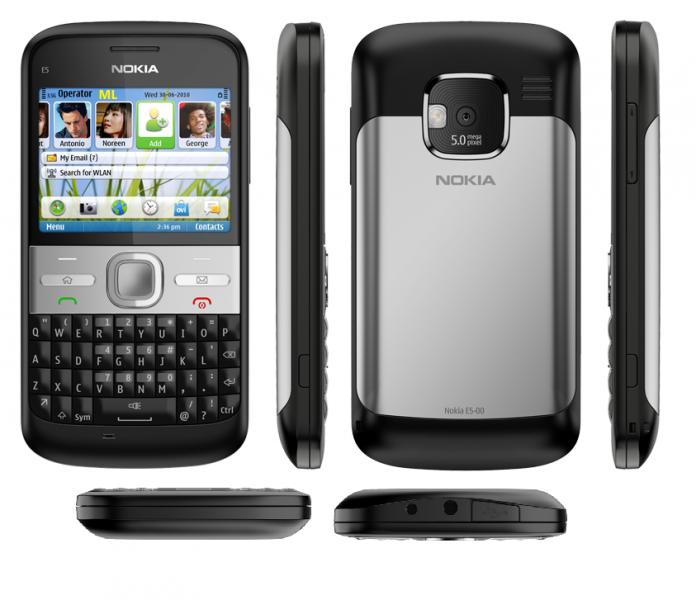 Мобильный телефон Nokia e5