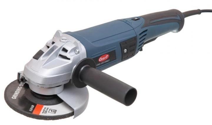 Угловая шлифмашина 1300Вт Craft cag-125/1300lv
