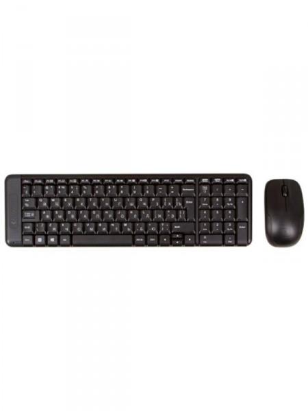 Клавіатура з мишкою бездротові Logitech mk220 wireless combo