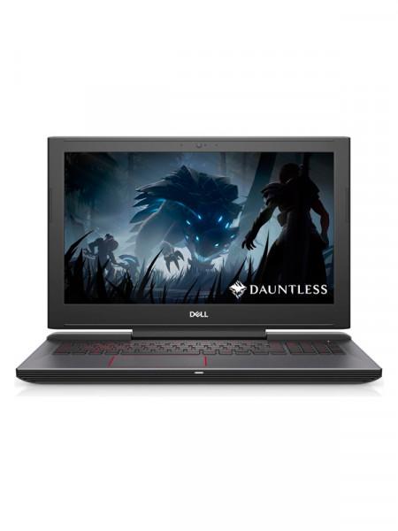 "Ноутбук экран 15,6"" Dell core i7 8750h 2,2ghz/ ram16gb/ hdd1000gb + ssd256gb/video gf gtx1060 6gb"