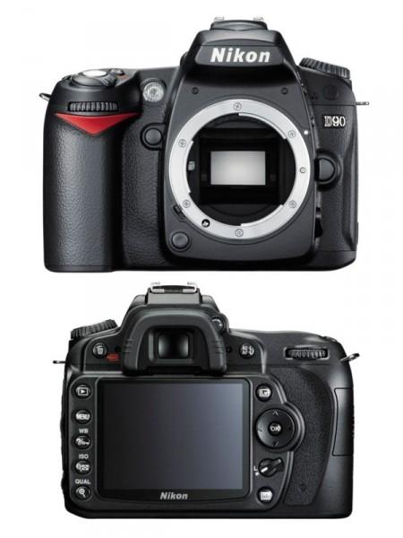 Фотоаппарат цифровой Nikon d90 без объектива
