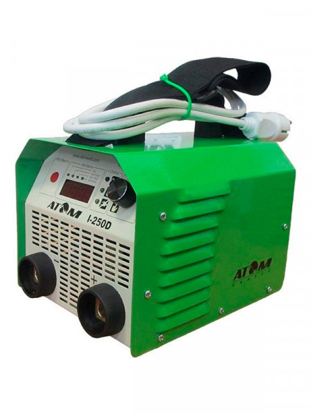 Сварочный аппарат Atom i-250d + провода