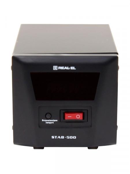 Стабилизатор напряжения Real-El stab-500 el122400002