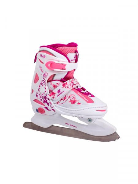 Ковзани - ледовые коньки раздвижные детские nordway slide-girl
