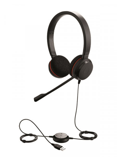 Навушники Jabra evolve 20 uc duo usb