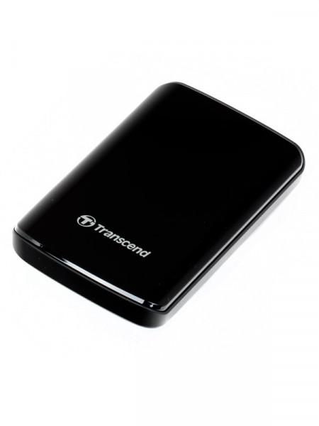 """HDD-внешний Transcend 500gb 2,5\"""" usb2.0 ts500gsj25d2"""