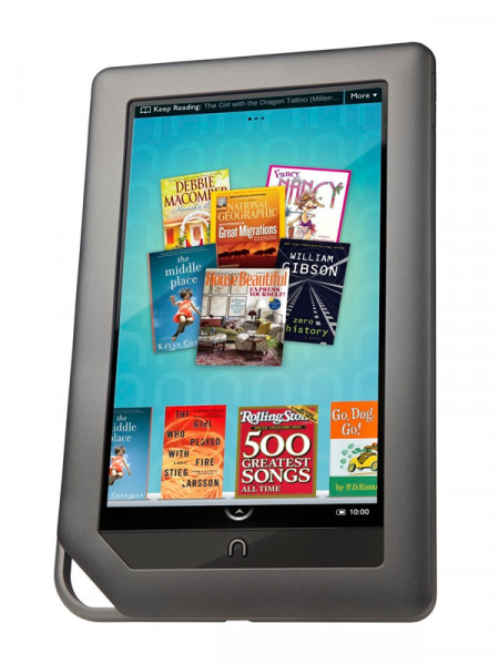 Электронная книга Barnes&Noble nook bnrv200 wifi color