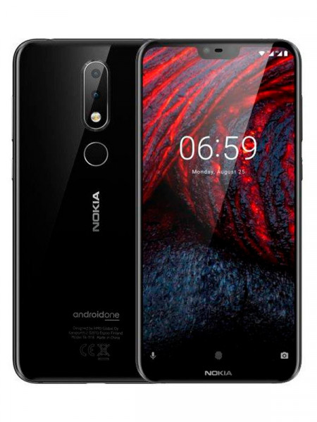 Мобільний телефон Nokia 6.1 plus ta-1083 4/64