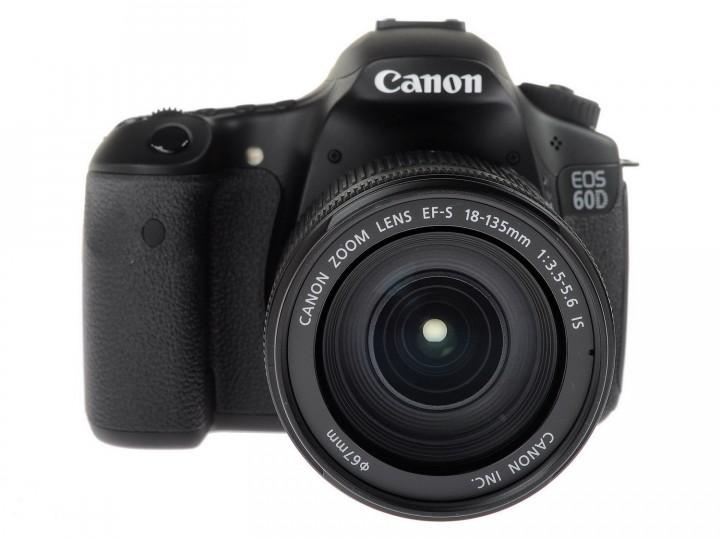 Фотоаппарат цифровой Canon eos 60d kit 18-135mm