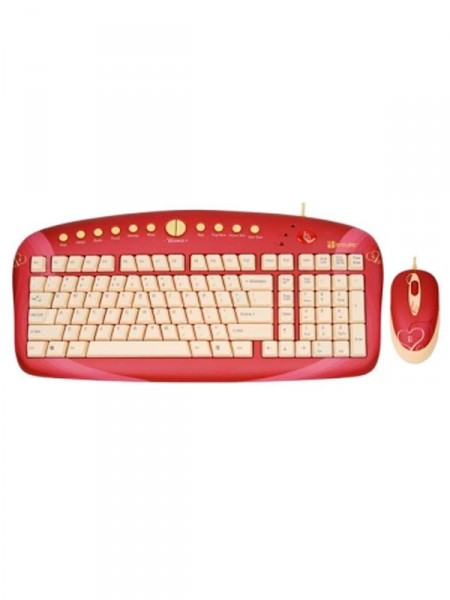 Клавиатура и мишка (usb) G-Cube gkse-2728s usb