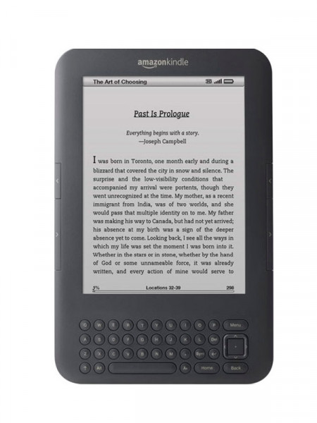 Электронная книга Amazon kindle 3 wi-fi (d00901)
